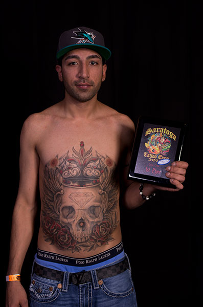 2012 Saratoga Tattoo Expo Award Winner